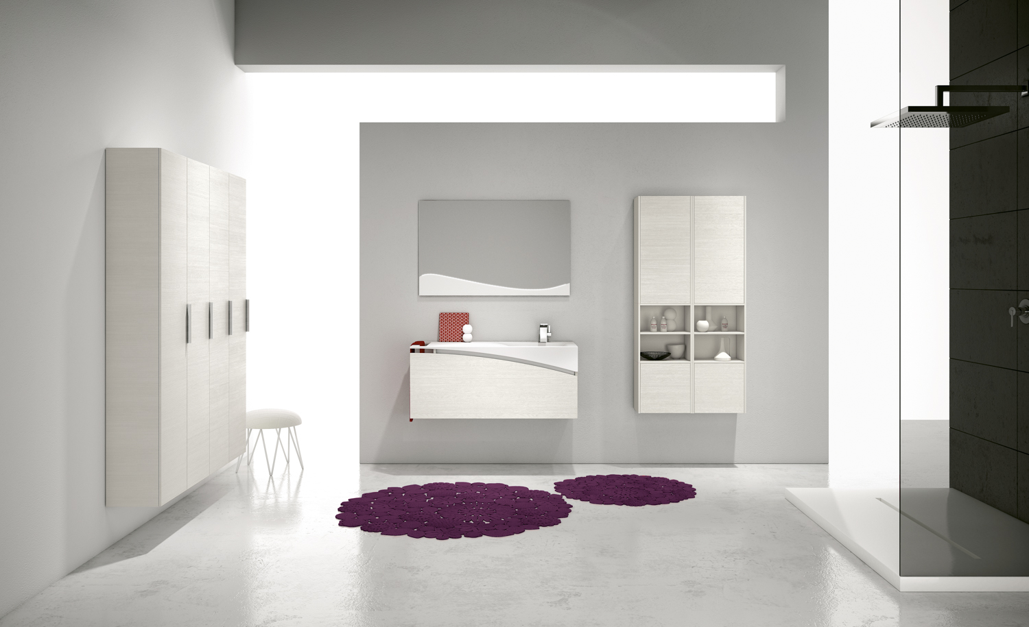Bmt bagni linea fly mobile lavabo 13f bmt - Mobile bagno fly ...